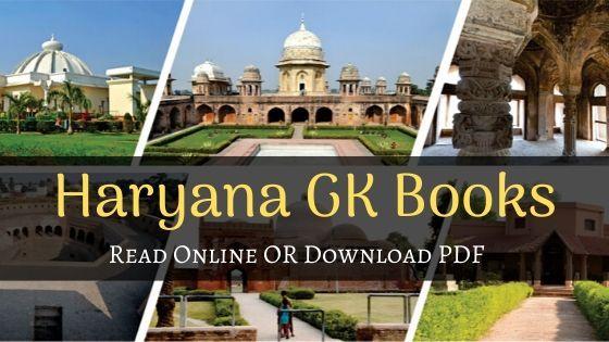 Haryana GK Books